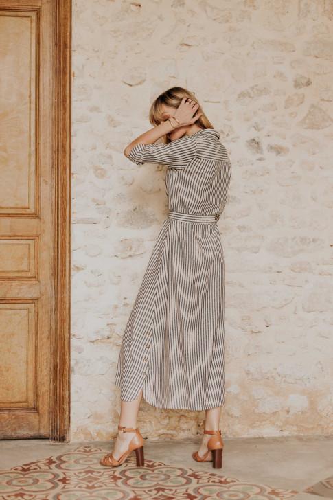 Maud leopard print pants