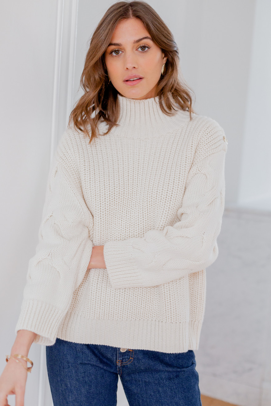 Ecru Eléonore sweater