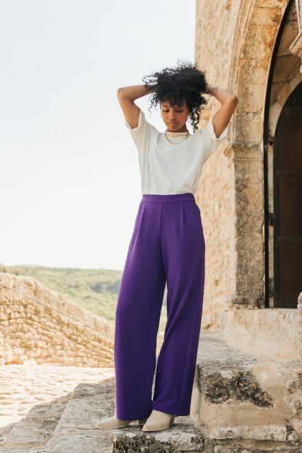 Nuria blush floral print pajamas