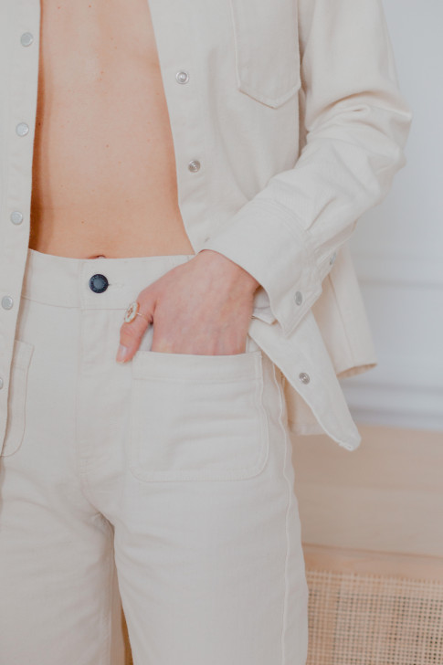 Ecru Arthur pants