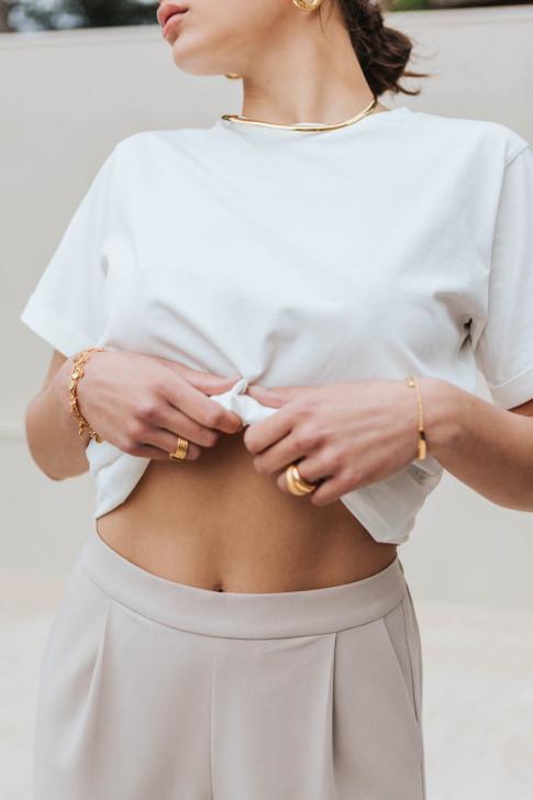 Camille Amazon print blouse
