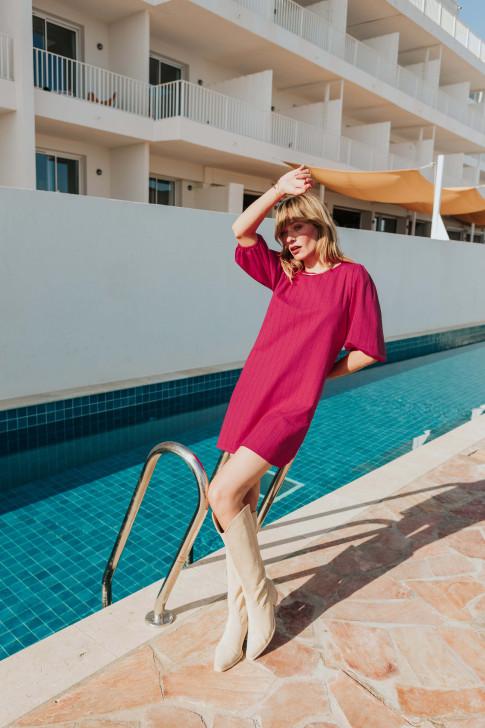 Chloé ecru knit t-shirt