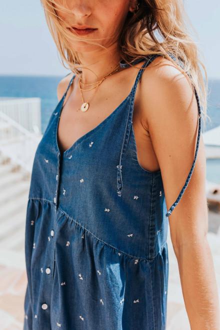 Gaby vintage flower print dress