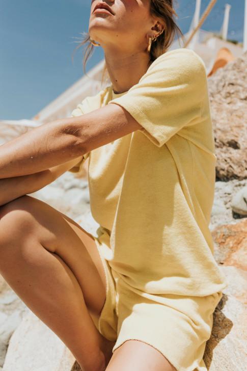 Blooming print scrunchie
