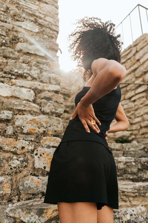 Romeo blue shorts
