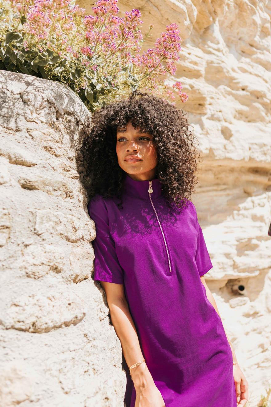 Irene blue dress