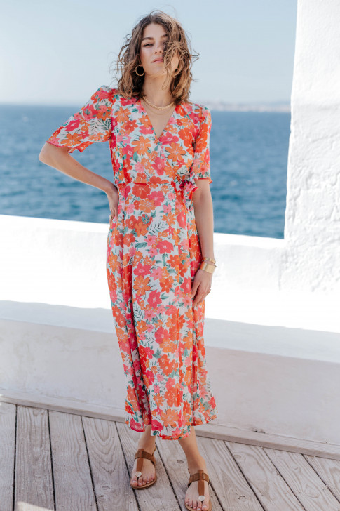 Kate garden party print dress