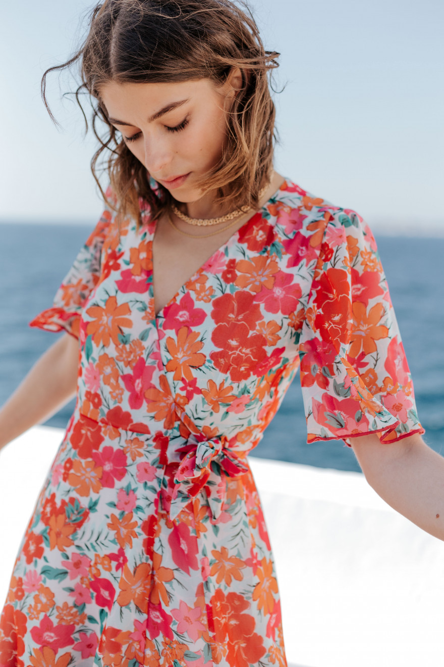 Kate garden party print dress