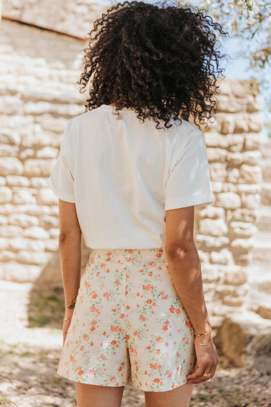 Adeline Skirt wild print