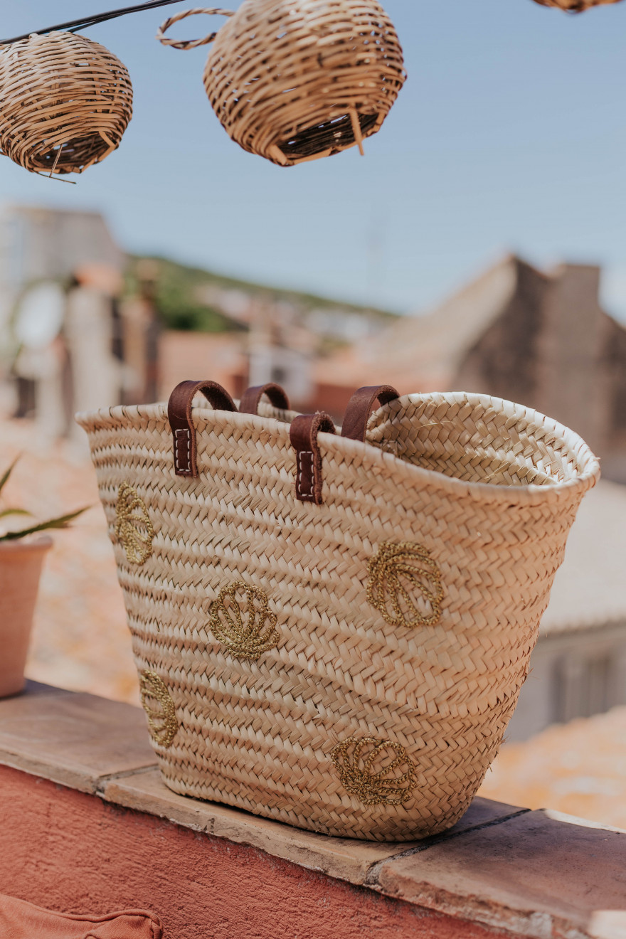Panier coquillages