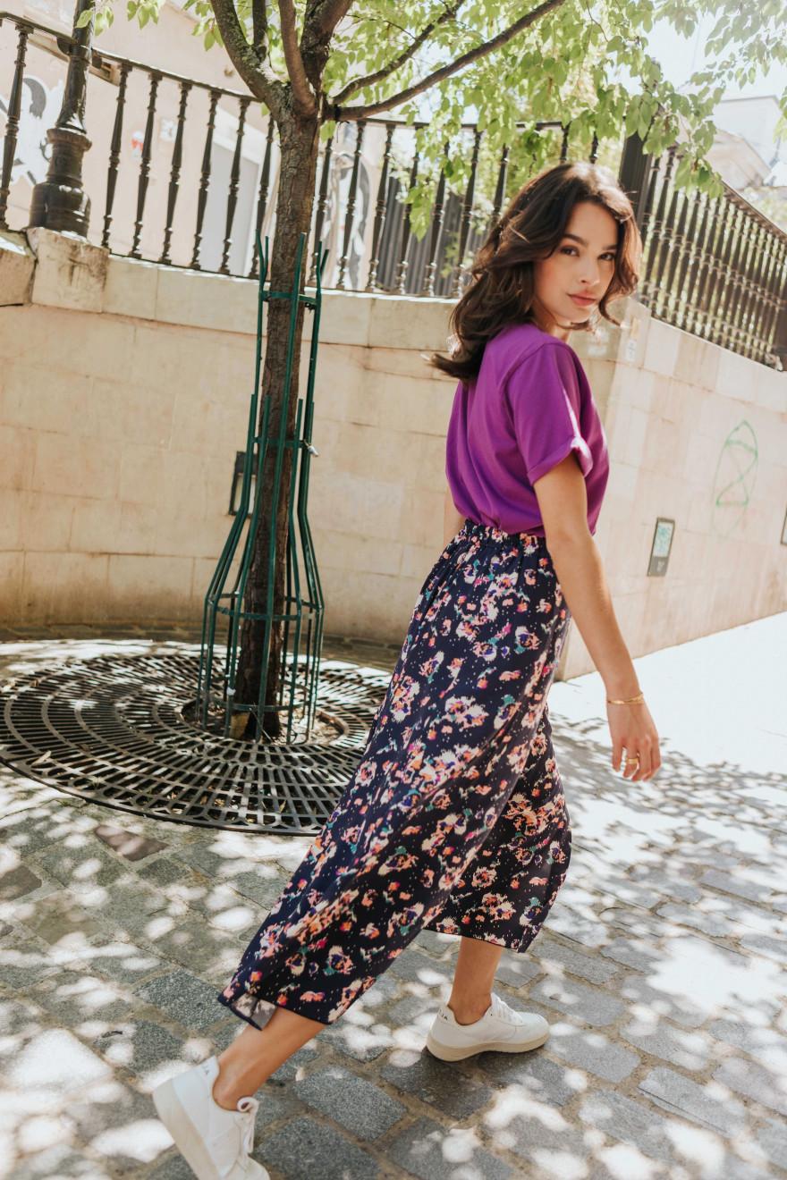 Short Jean bleu