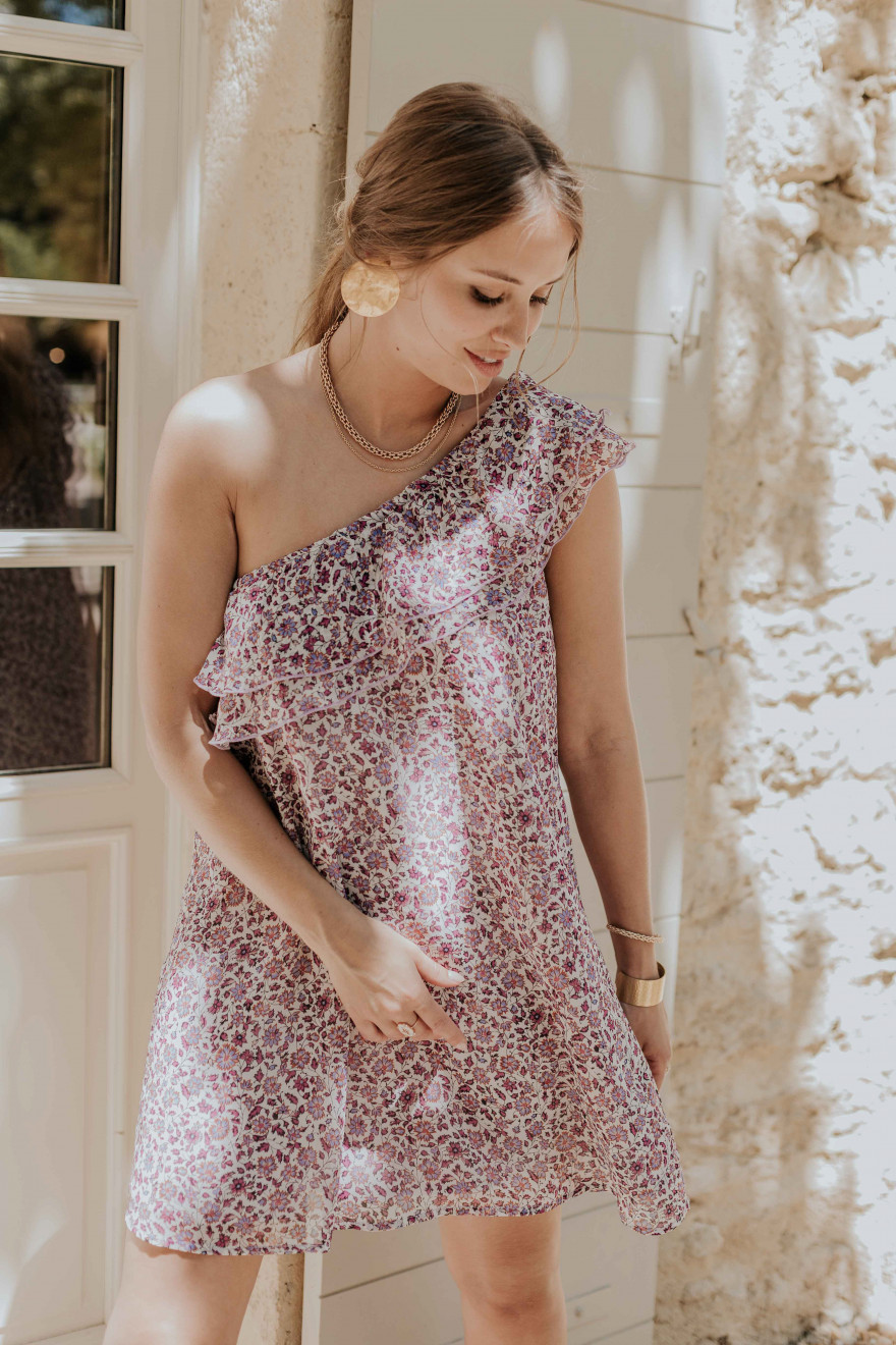Robe Rosaline violette