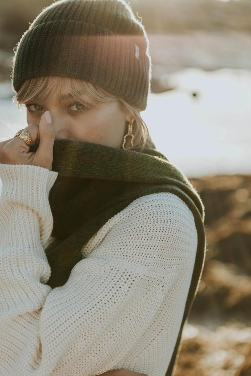 Robe Gloria bleu marine