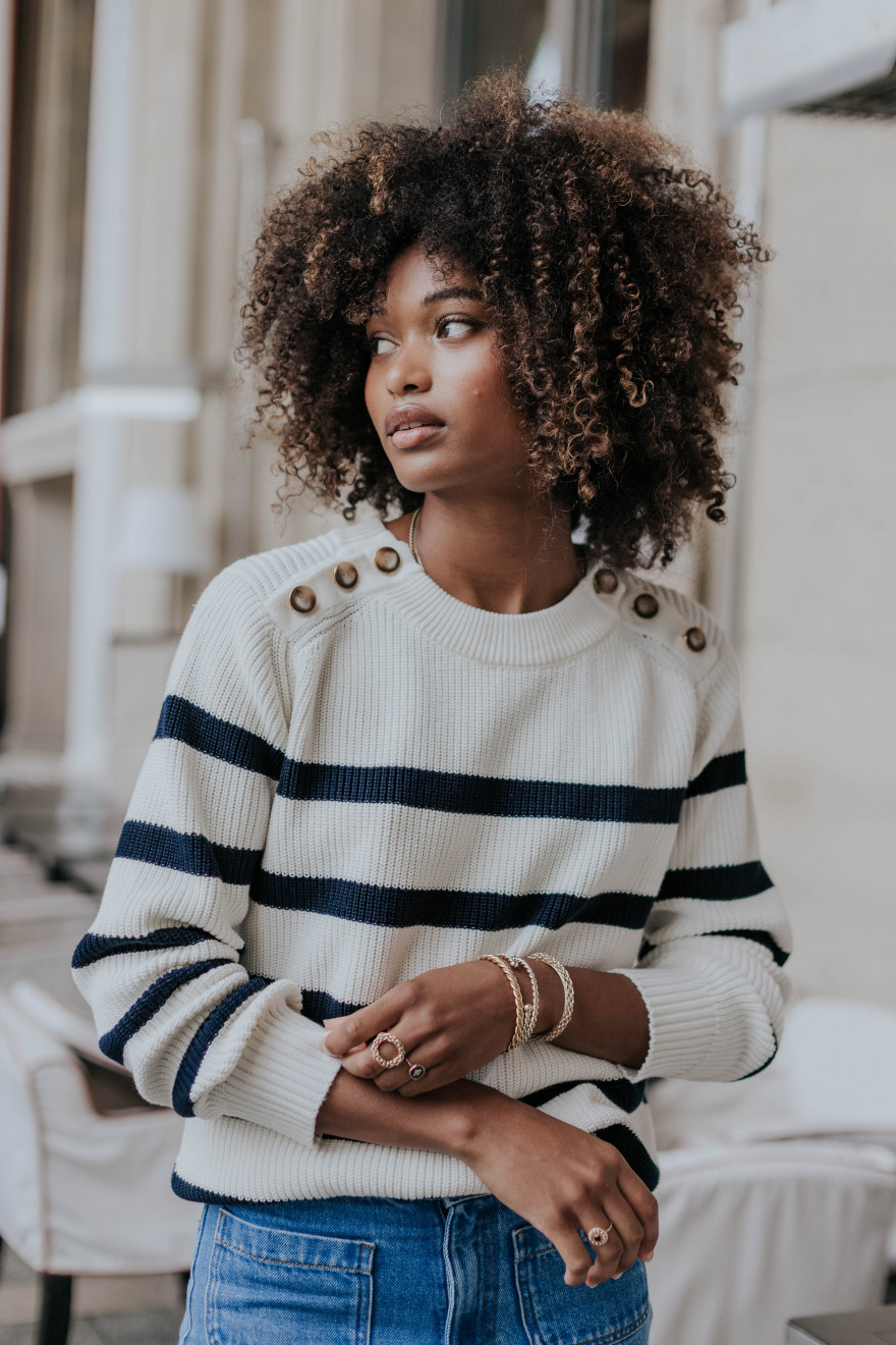 Stripped Colette Sweater